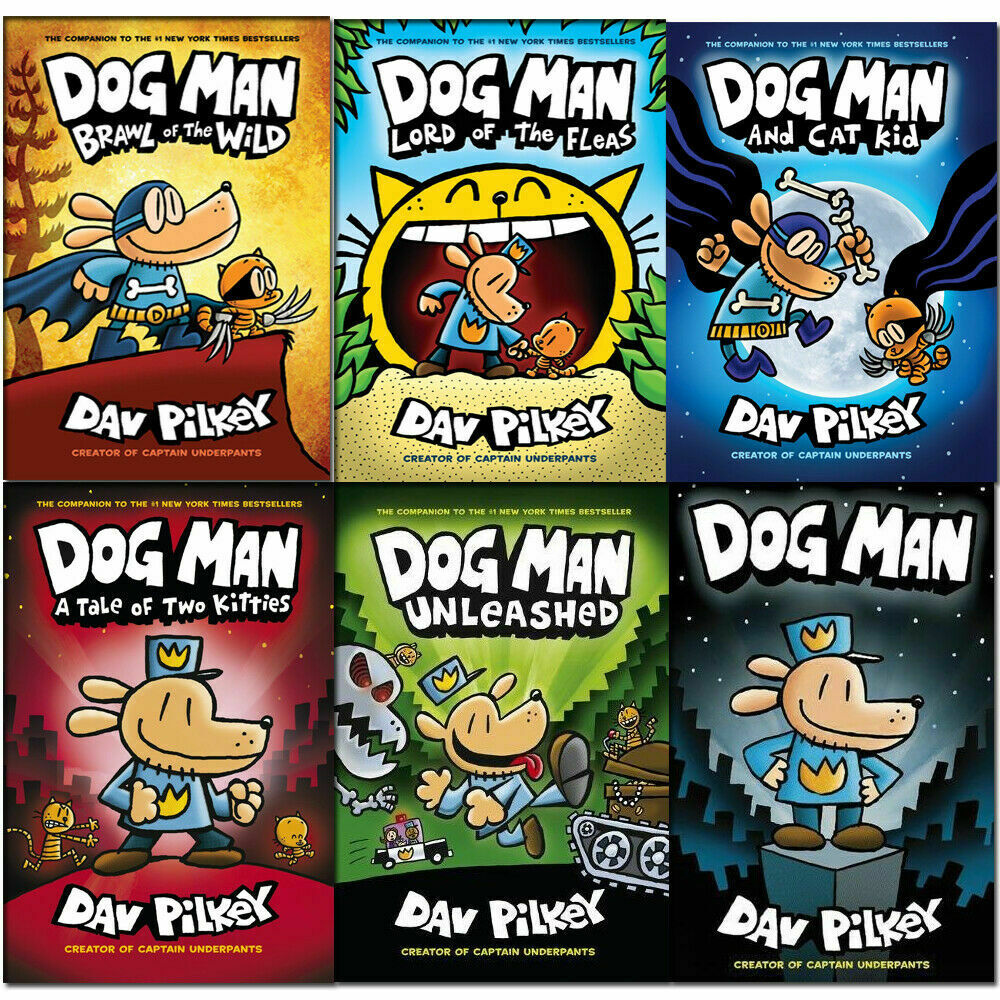 dog man books